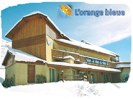Chalets de L'Orange Bleue à Vars - station des Alpes du Sud